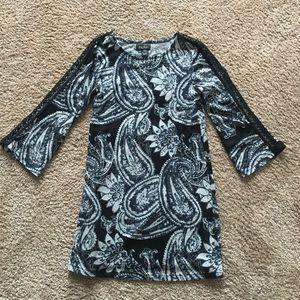 Papillon tunic dress with fun sleeve detail